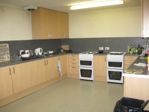 Kitchen in my flat. Shared by 12 people