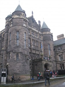 Hogwarts? No, this is one of the University of Edinburgh's student centers