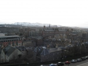 Veiw from the Castle
